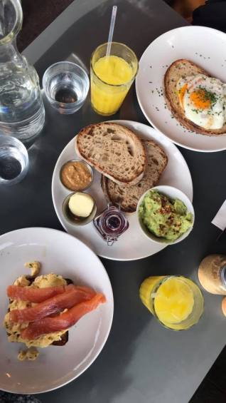 kings cross places to go places to eat restaurants caravan brunch food