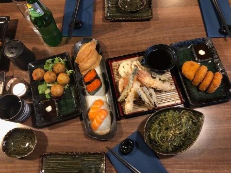 Oiishi sushi east kilbride food japanese