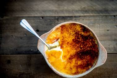yanns crieff glenearn house food places to eat things to do creme brulee