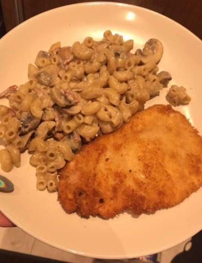 bacon mushroom truffle pasta recipe