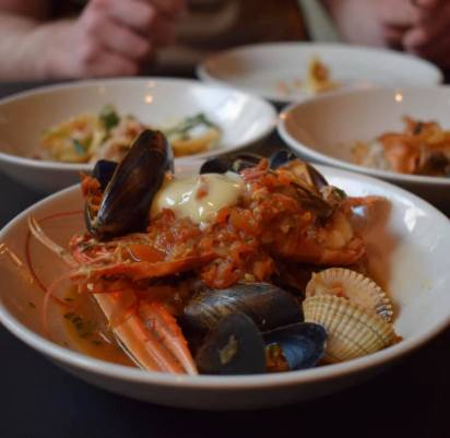 gather by zique glasgow food best restaurant seafood