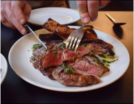 gather by zique glasgow food best restaurant steak
