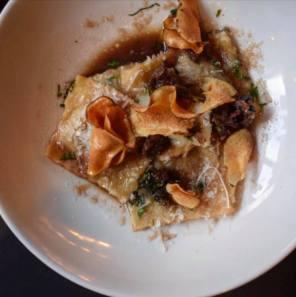 gather by zique glasgow food best restaurant venison ravioli